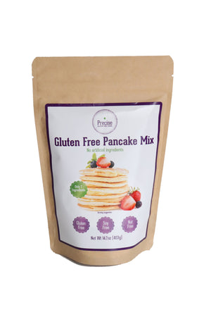 precise gluten free pancake mix nut free soy free allergy friendly