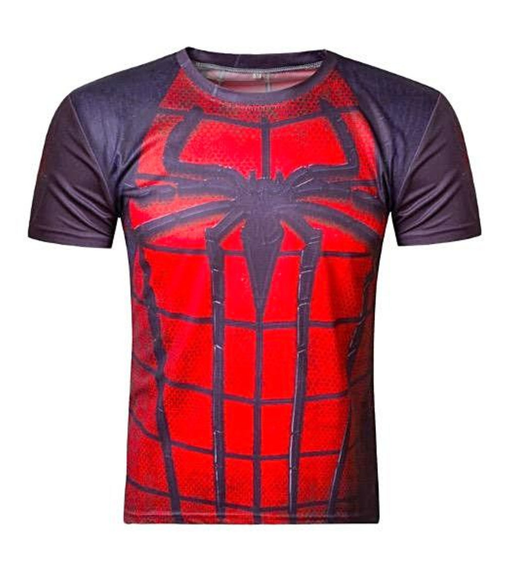 Spiderman Compression Short Sleeve