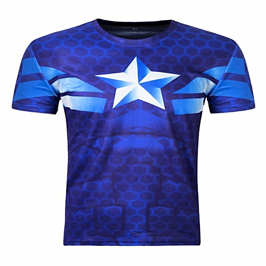 Star Compression Short Sleeve