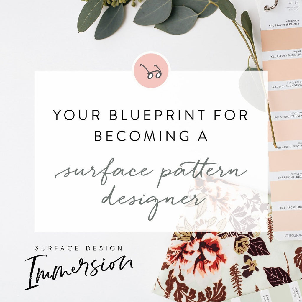 Surface Pattern Design Immersion with Bonnie Christine