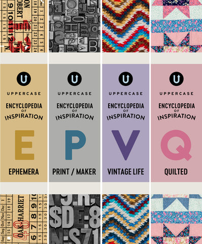 The UPPERCASE Encyclopedia of Inspiration (Pre-Order Next 4 Volumes)