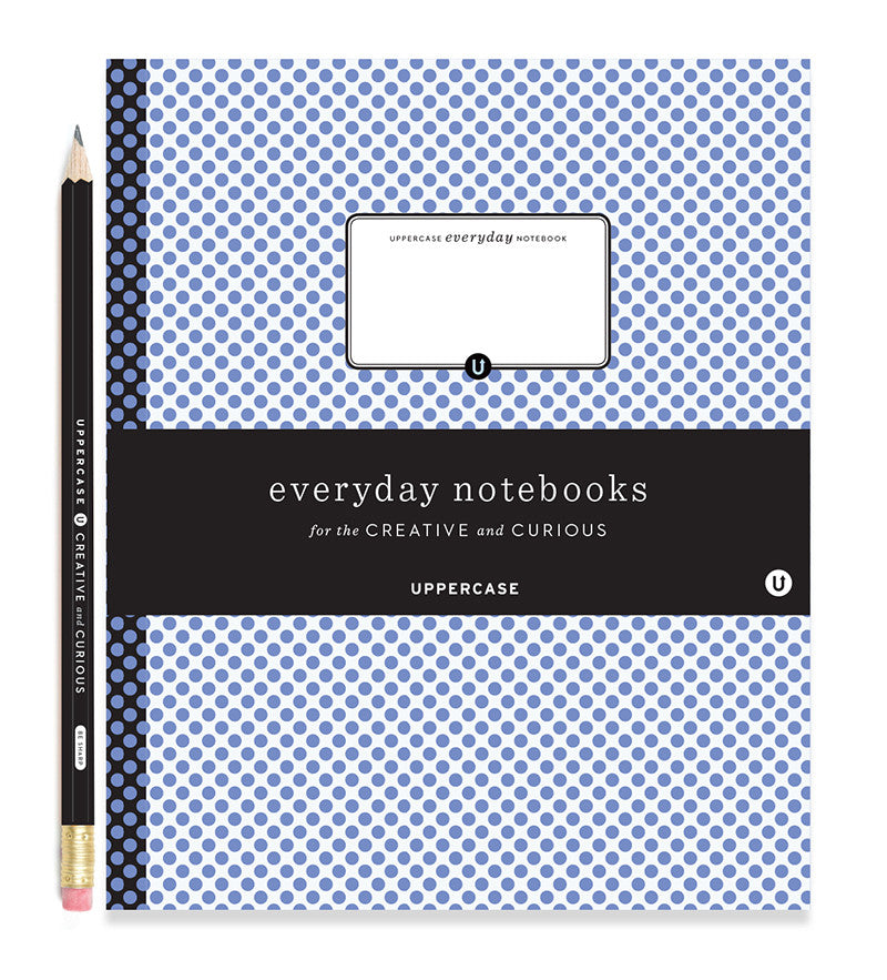 UPPERCASE everyday notebook (cool colours) - SHIPPING FROM US ONLY