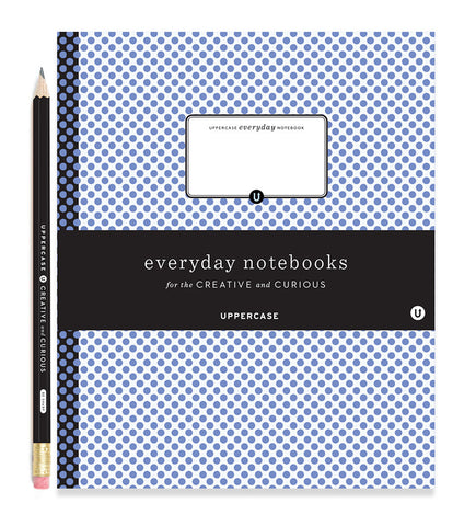 UPPERCASE everyday notebook (cool colours)