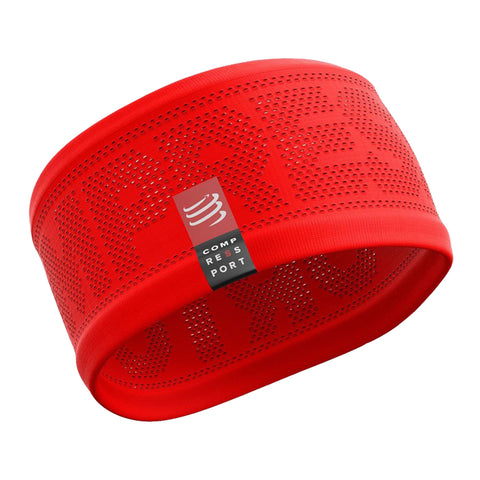 Compressport Headband On/Off Unisex - Rojo