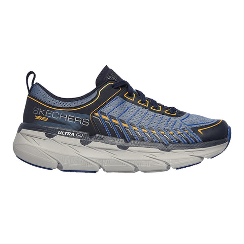 Skechers Performance Max Cushioning Premier Hombre - Azul/Gris/Blanco