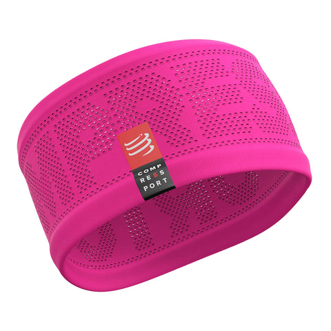 Compressport Headband On/Off Unisex - Rosa