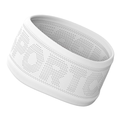 Compressport Headband On/Off Unisex - Blanco/Rojo