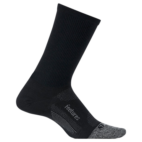 Feetures Elite Ultra Light Mini Crew - Negro/Gris