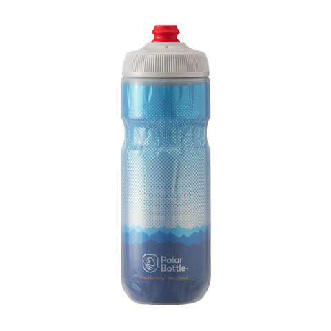 Polar Bottle Ridge Cobalt Insulated 20oz Unisex - Blanco/Azul