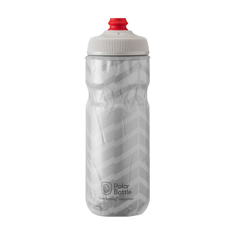 Polar Bottle Bolt Silver Insulated 20oz Unisex - Blanco