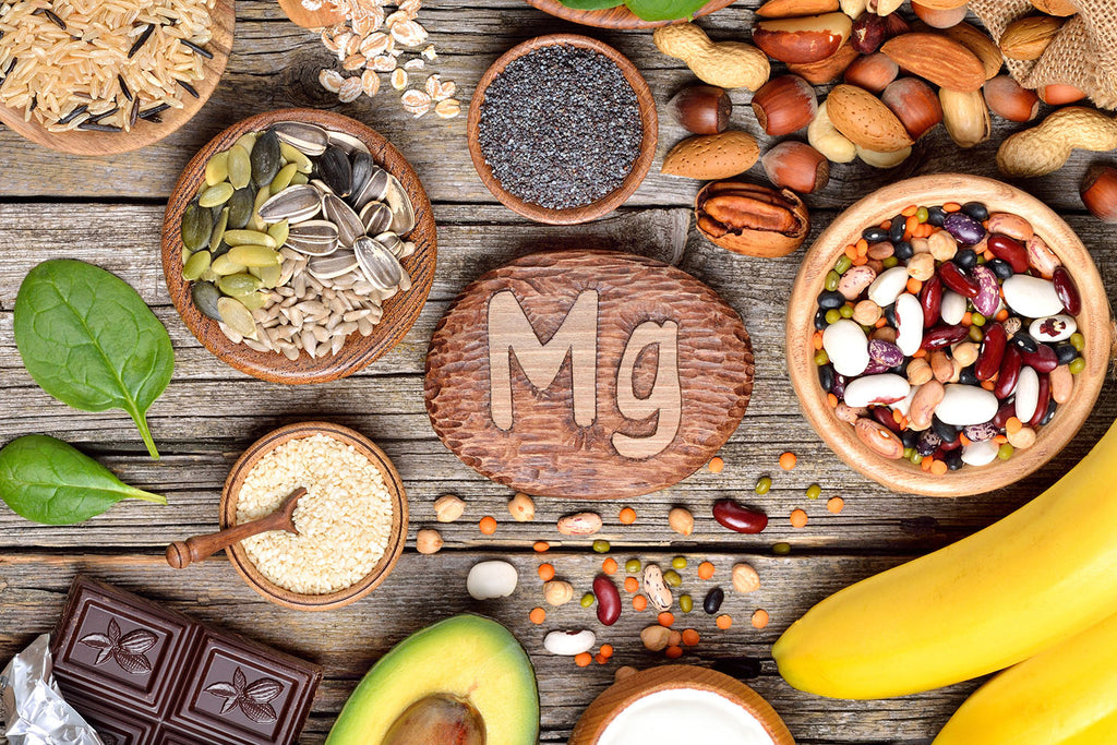 magnesium for sleep: different kinds of food