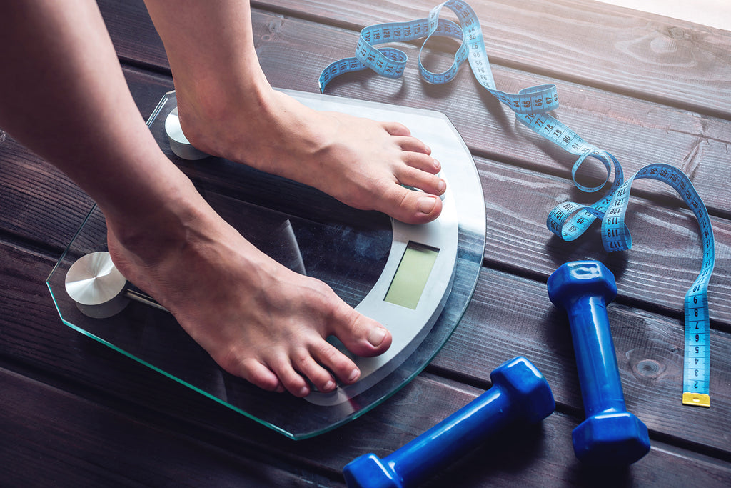 what is body composition: weighing scale