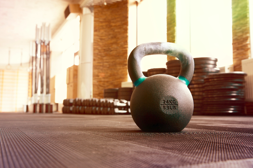 What is Resistance Training Kettlebells on the floor