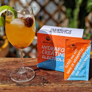 Performance Re-hydration: Electrolytes, Creatine and Vitamin C