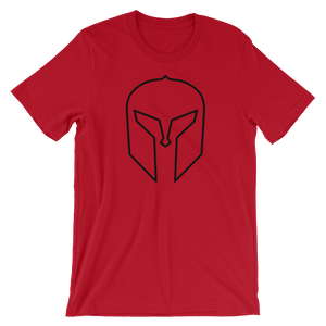 Where Spartans are made T-Shirt, red
