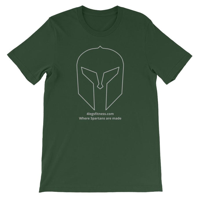 Where Spartans are made T-Shirt, green