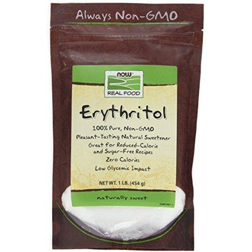 NOW Foods Erythritol Natural Sweetener, 1 lb-Sweetener-NOW Foods-Keto Kuts