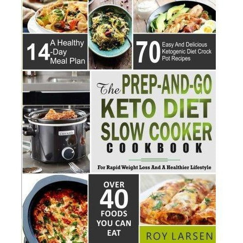 The Prep-And-Go Keto Diet Slow Cooker Cookbook-Book-CreateSpace Independent Publishing Platform-Keto Kuts
