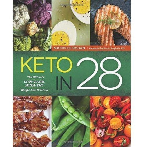 Keto in 28: The Ultimate Low-Carb, High-Fat Weight-Loss Solution-Book-Sonoma Press Staff Michelle Hogan-Keto Kuts