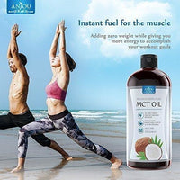 Anjou MCT Oil 32 oz, C8 C10 Derived from Non-GMO Coconuts - Made in USA-Supplements-Anjou-Keto Kuts