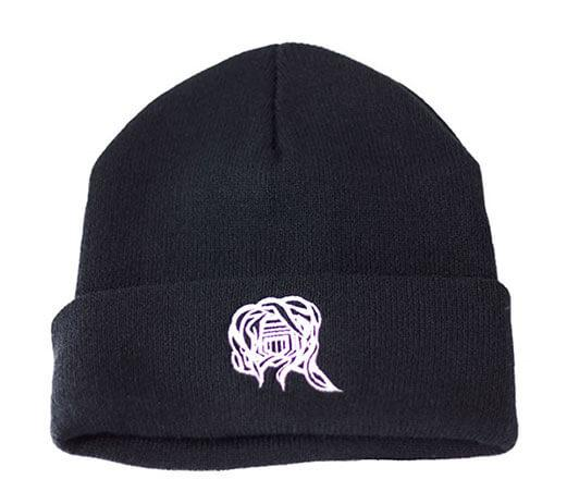 Castle Addict Black Beanie