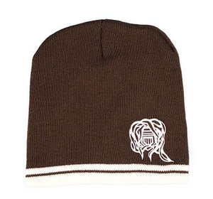 Brown/White Skullie