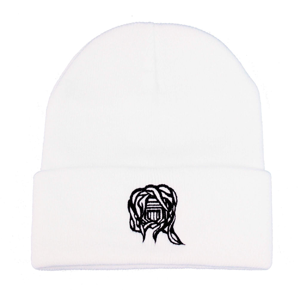 Castle Addict White Beanie