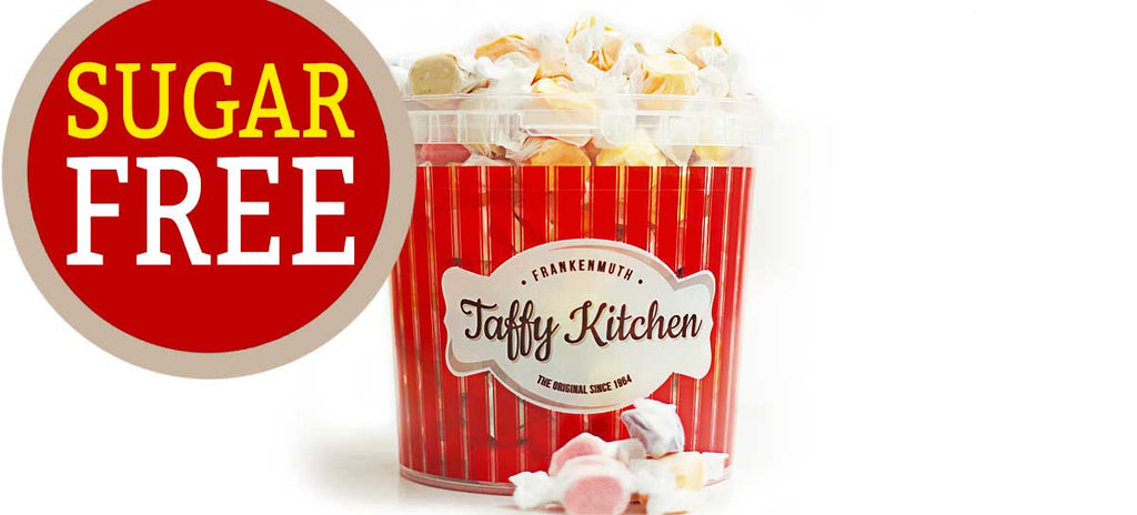 Sugar Free - Taffy Bucket