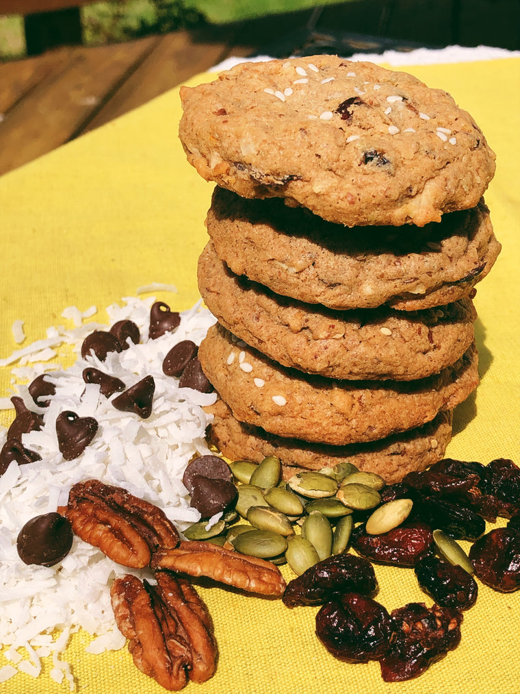 Sprouted Spelt Power Cookie
