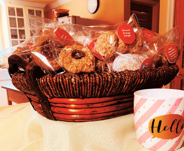 Sprouted Spelt Power Cookies - 6 Flavor Gift Basket