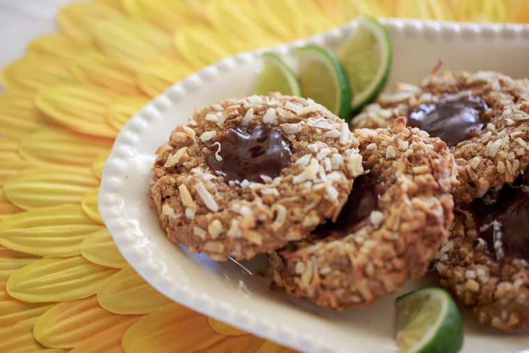Tropical Guava Birdsnest Cookies