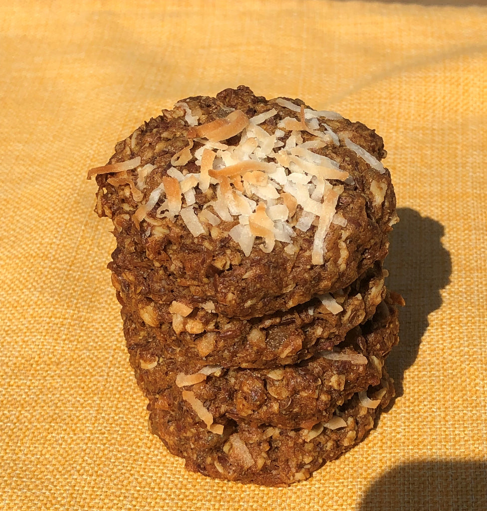 Vegan Coconut Ginger Cookie