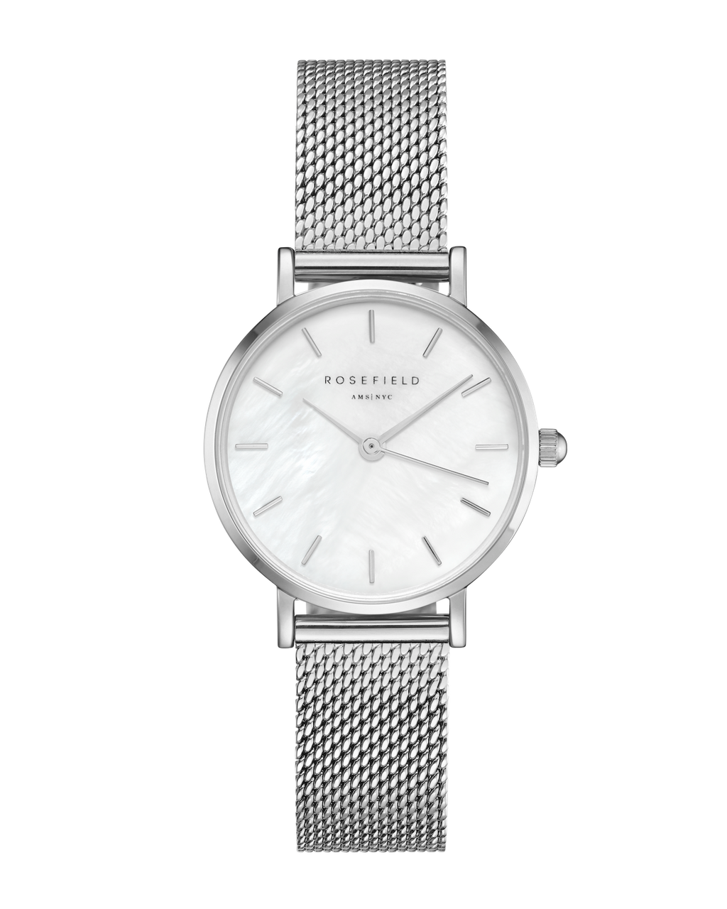 Rosefield Watch The Small Edit - Silver