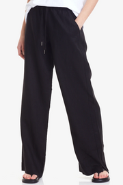 Commoners Wide Leg Linen Pant