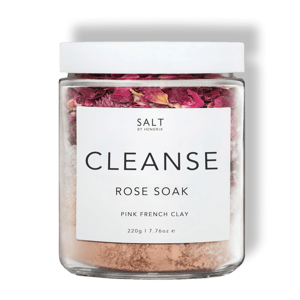 Salt By Hendrix Rose Cleanse The Salt By Hendrix Rose Soak is your perfect bath time