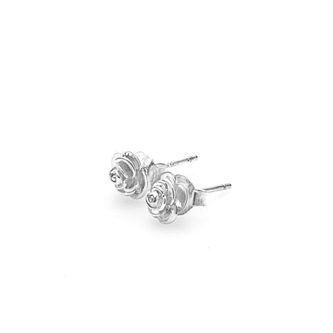 Stolen Girlfriends Club Rose Bud Earrings Jewellery / Rose bud studs / Sterling Silver / Sold as a pair