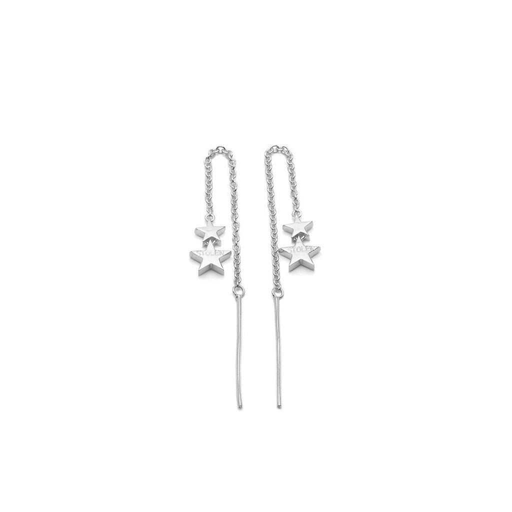 Stolen Girlfriends Club Falling Stolen Star Earrings Jewellery / Falling Stolen Star Earring / 925 Sterling Silver