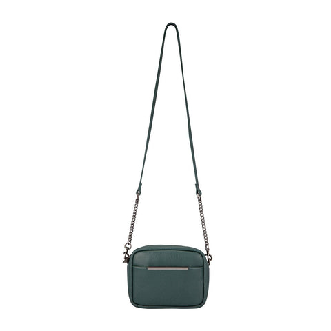 Status Anxiety Cult Handbag The Status Anxiety Cult Bag is your go to bag on a night out, trendy and modern you can never fail with the Cult Bag. Crafted in a soft shrunken leather and gunmetal hardware and chain. The Cult bag features a wide opening for easy access. The Cult bag has an Internal zip pocket, and a phone stash. The cult bag can dress up any outfit and is great for everyday use or for a special occasion!