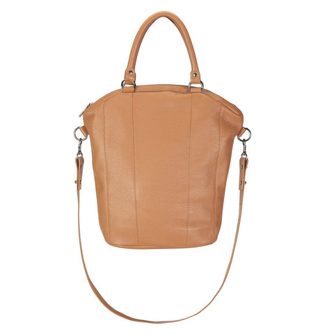 STATUS ANXIETY SOME SECRET PLACE BAG - TAN  The Status Anxiety Some Secret Place Bag is a larger bag, perfect for those that need to carry a lot of items. It is crafted from luxuriously thick Italian tan leather. This slouchy style is Status Anxiety's best selling cross body bag.