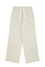 COMMONERS WIDE LEG LINEN PANT  The Commoners Wide Leg Linen Pants are the perfect basic wardrobe staple, now available in the gorgeous natural colourway.The Wide Leg Linen Pants speak for themselves and feature a relaxed silhouette, with wide legs sitting approximately at the ankle, finishing with an encapsulated elasticated waistband with drawstrings for controlled comfort. Crafted using a soft linen blend, The Wide Leg Linen Pants are all about comfort while looking stylish!