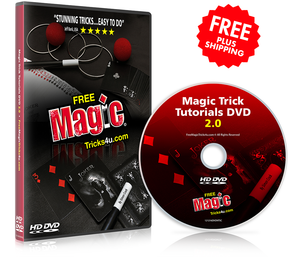 "FreeMagicTricks4u DVD Bundle -  <font color=""red"">FREE SHIPPING!</font>"