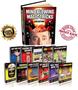 Mind Blowing Magic Collection eBook - Learn Easy Amazing Magic Tricks