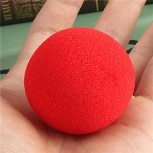 sponge ball magic trick