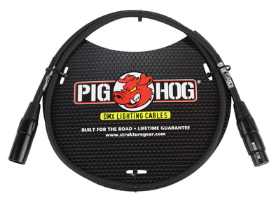Pig Hog 3ft DMX Lighting Cable