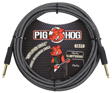 "Pig Hog ""Amplifier Grill"" Instrument Cable, 10ft"