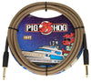 "Pig Hog ""Tuscan Brown"" Instrument Cable, 10ft"