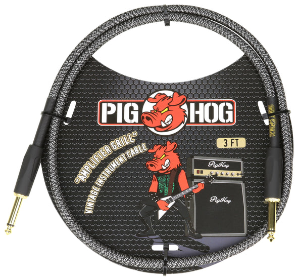 "Pig Hog ""Amplifier Grill"" 3ft Patch Cable"