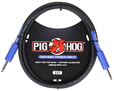 Pig Hog 9.2mm Speaker Cable, 5ft (14 gauge wire)