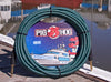 "Pig Hog ""Tahitian Blue"" Instrument Cable, 20ft Right Angle"