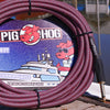 "Pig Hog ""Riviera Purple"" Instrument Cable, 10ft"